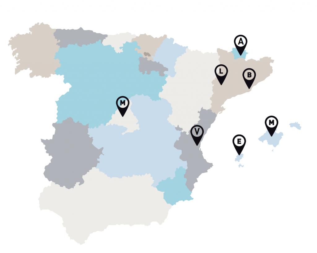 DELEGACIONES OFICINAS DE ROCA BORRAS