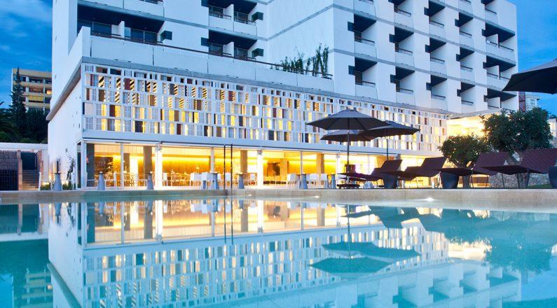 exterior hotel od port portals, mallorca