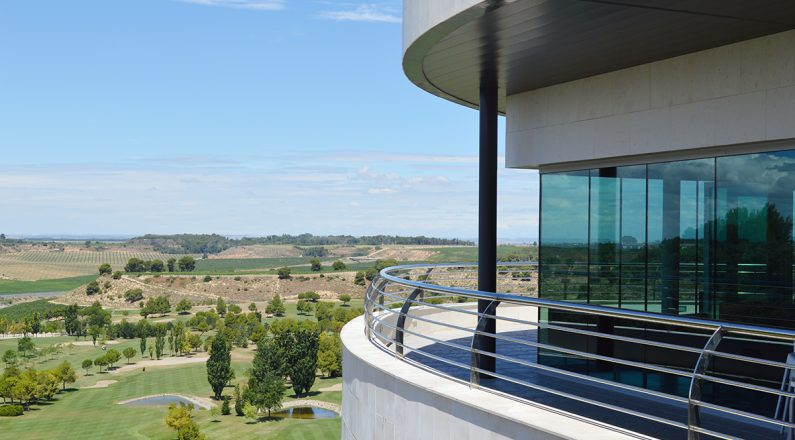 Balcón de la Casa Club Raimat Golf Lleida