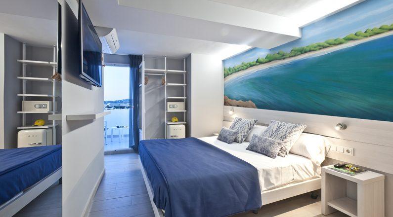 ryans la marina, room premium double sea view