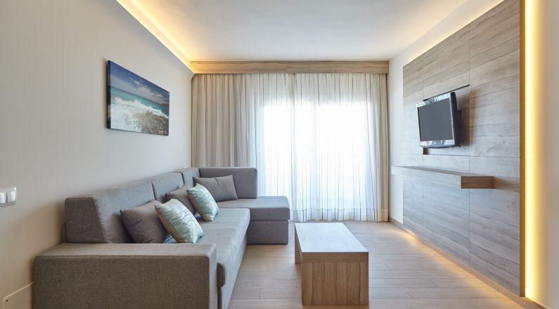 Salón, sala de estar hotel
