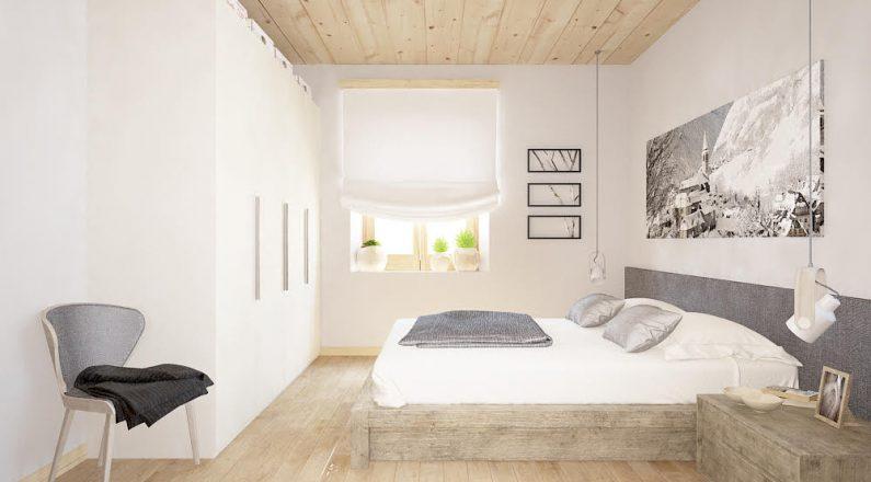Dormitorio de vivienda